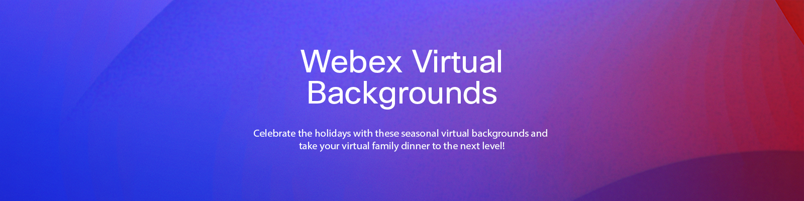 Webex Virtual Backgrounds